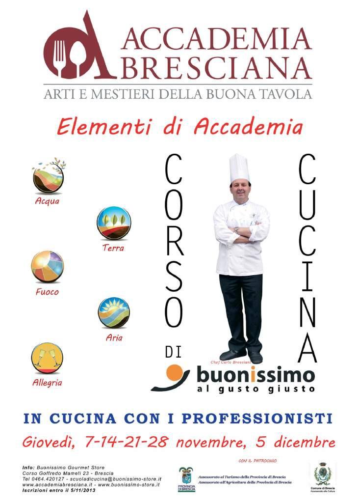 Elementi d accademia il blog di buonissimo gourmet - Corsi cucina brescia ...