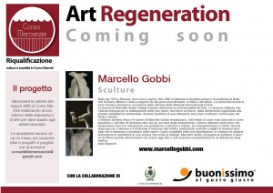Art Regeneration Corso Mameli - Marcello Gobbi Coming soon