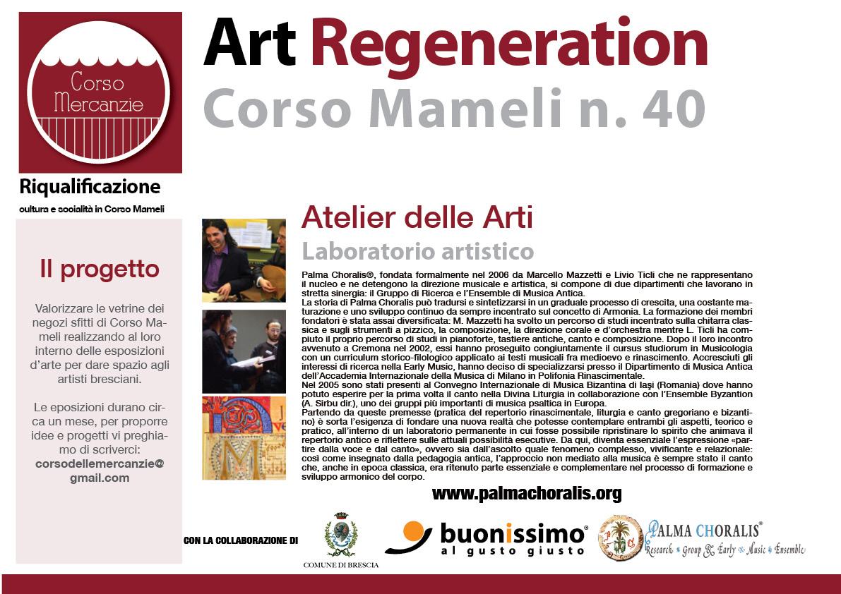 Art Regeneration Corso Mameli   Atelier Delle Arti